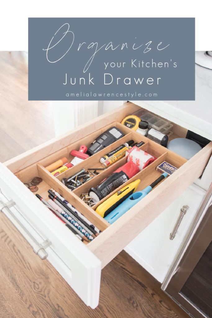 Got Junk? Keep your Junk Drawer Organized