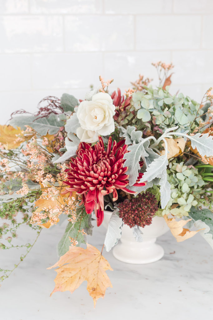 Create a Centerpiece with Grocery Store Flowers