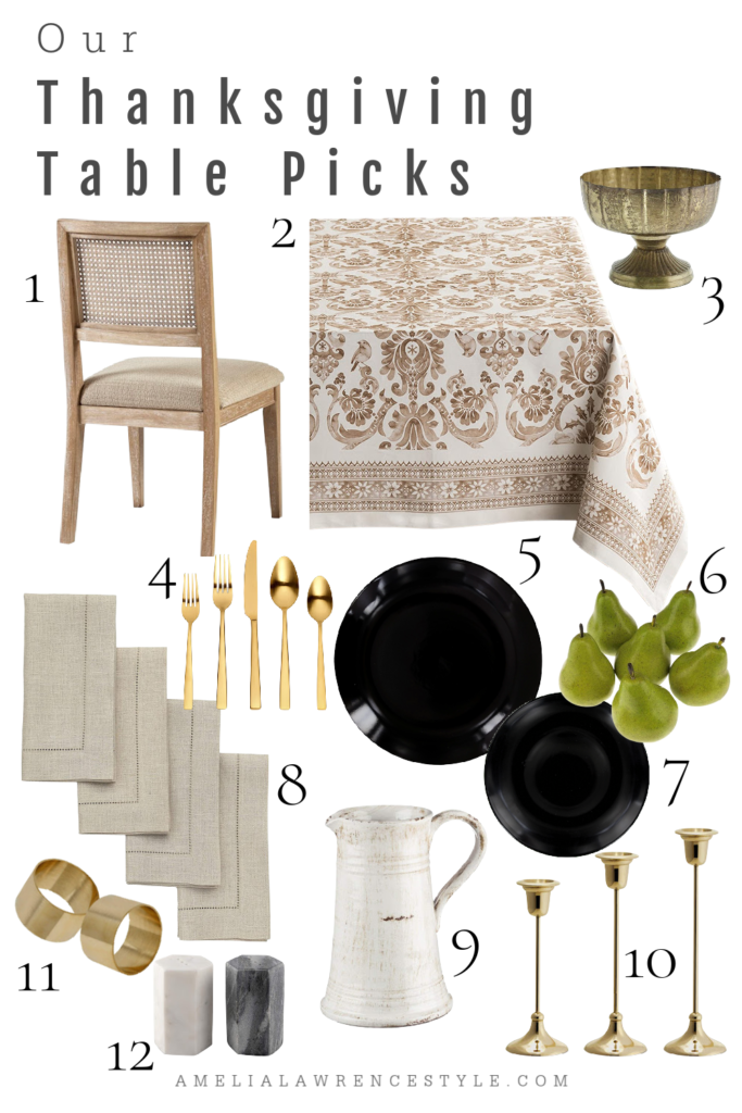Our Thanksgiving Table Picks